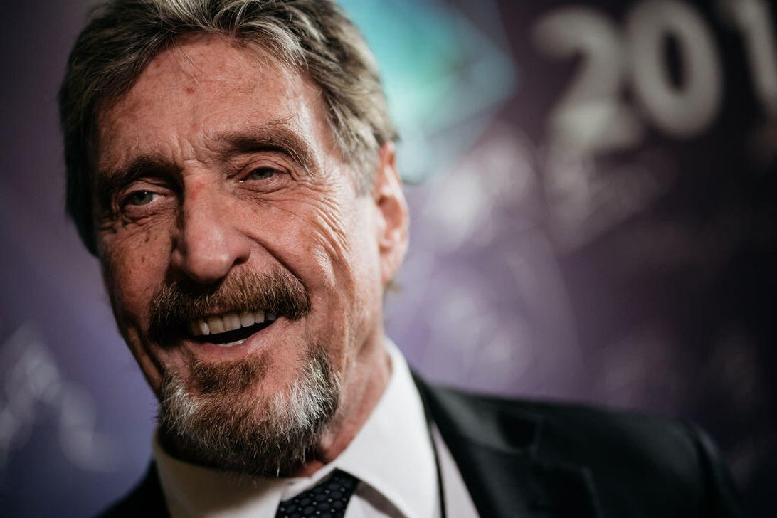 John McAfee faces new federal charges over alleged cryptocurrency schemes