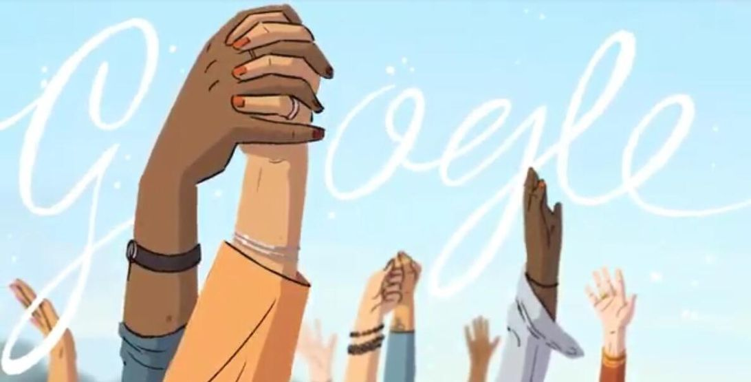Google Doodle honors women's firsts on International Women's Day