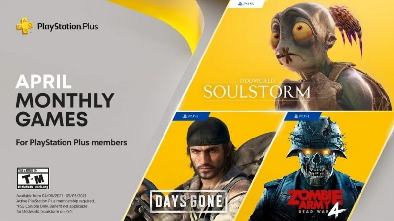 Read more about the article Free PS Plus April 2021 Games Revealed, Including Days Gone