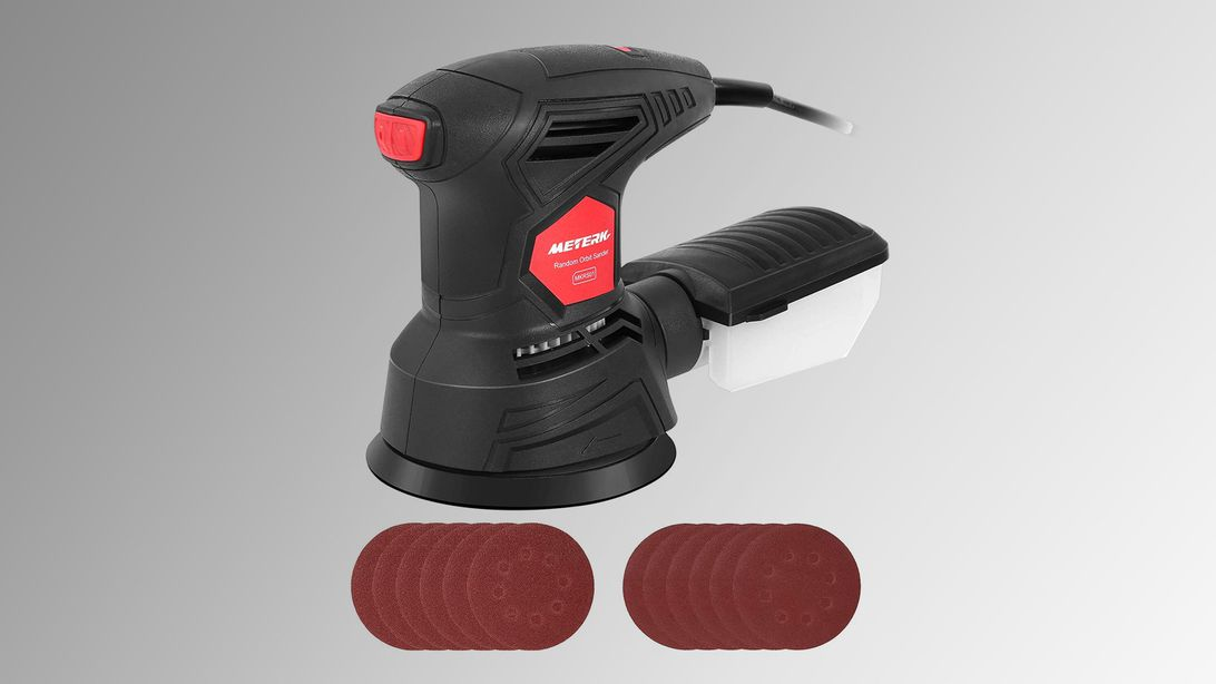 Finally finish that project with a 5-inch random orbit sander for just $24