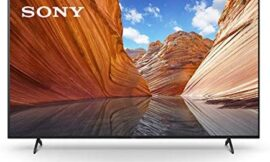 Sony X80J 55 Inch TV: 4K Ultra HD LED Smart Google TV with Dolby Vision HDR and Alexa Compatibility KD55X80J- 2021 Model