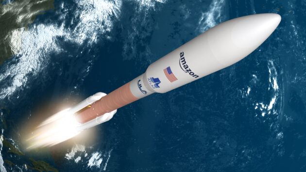 Amazon picks the rocket that'll launch first Kuiper satellites