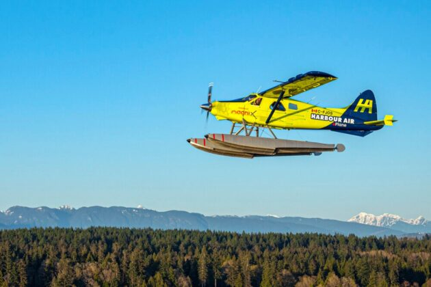 Swiss venture teams with Harbour Air and MagniX on electric plane