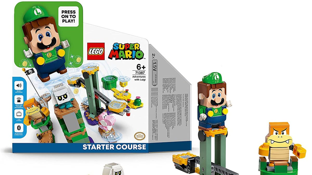 LEGO Luigi Starter Set Leaked on Amazon – Review Geek