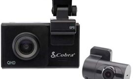 Cobra Smart Dash Cam + Rear Cam (SC 200D) – QHD+ 1600P Resolution, Voice Commands, Built-in WiFi & GPS, 16GB SD Card, 3″ Display, Shared Alerts, Incident Reports, Emergency MayDay, Drive Smarter App