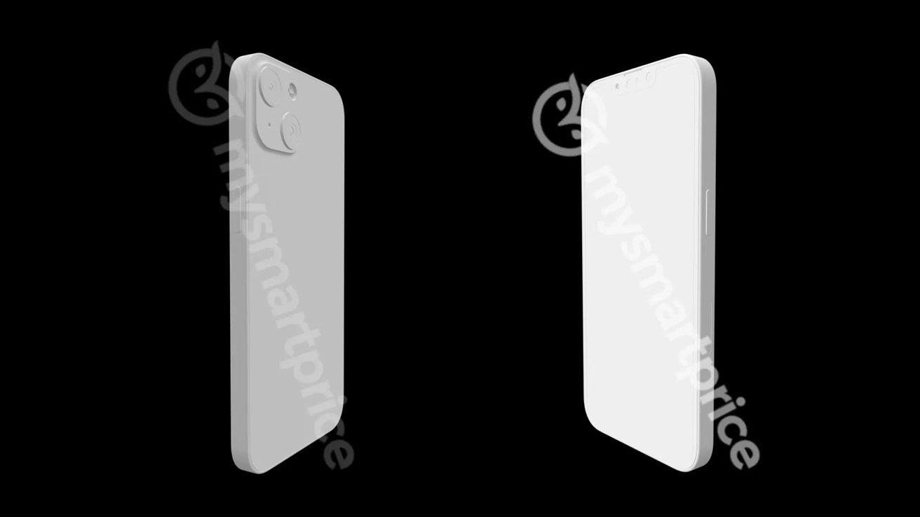 'iPhone 13' renders double-down on smaller notch rumors