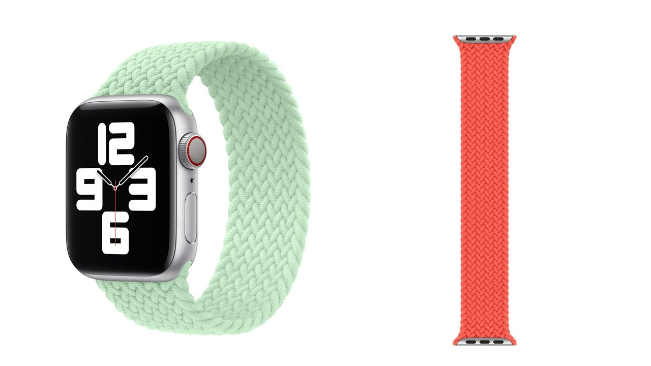 New Apple Watch bands for spring appear after 'Spring Loaded' event
