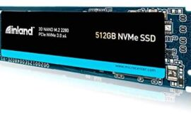 Inland Premium 512GB SSD M.2 2280 PCIe NVMe 3.0 x4 3D NAND Internal Solid State Drive, High Speed Read/Write Speed up to 3100MB/s and 1900MB/s, NVMe 1.3 & PCIe 3.1 Compatible