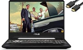 ASUS TUF A15 15.6″ IPS 144Hz FPS FHD Gaming Laptop (AMD 4-Core Ryzen 7-3750H(Beat i7-7700H), RTX 2060, 32GB DDR4 RAM, 512B PCIe SSD + 1TB HDD) RGB Backlit Keyboard, Windows 10 Home, IST HDMI Cable