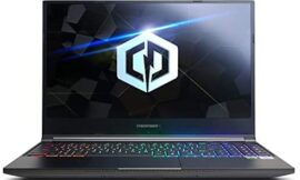 CYBERPOWERPC Tracer IV Edge Pro 15.6″ Gaming Notebook, Intel Core i7-10875H 2.3GHz, GeForce RTX 3060 6GB, 16GB DDR4, 1TB PCI-E NVMe SSD, WiFi 6, Bluetooth & Win 10 Home (GTEP99822)