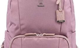 Travelpro Women's Maxlite 5-Laptop Backpack, Dusty Rose, One Size