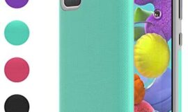 Ownest Compatible Samsung Galaxy A51 Case,[Not Fit A51 5G Version],Non-Slip Anti-Fall Dual Layer 2 in 1 Hard PC TPU with Protection Lightweight for Samsung Galaxy A51-Mint Green