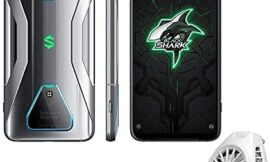 Apobob Black Shark 3 Gaming Phone, 5G Mobile Phone, 6.67 inch HD,Snapdragon 865 with Android 10 Unlocked and White Fun Cooler