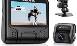 4K Dash Cam for Cars , EAHCPAI E100 Pro Dash Camera Dual Front and Rear with WI-FI, GPS, Motion Detection , Parking Monitor , G-Sensor , Loop Recording, WDR