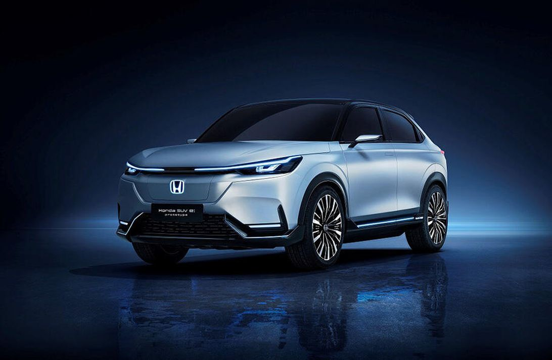 Honda debuts a slick prototype electric SUV in Shanghai