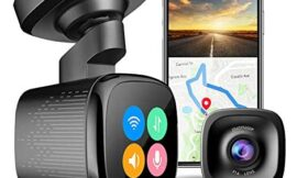 JOMISE 1600P 60FPS Smart Dash Cam with Wi-Fi GPS Parking Monitor, Ahead Car Move Reminder, Traffic Lights Change Reminder, Custom Screen Saver, 2″ Touch Screen, Night Vision, G-Sensor, Loop Recording