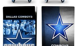 Decal Moments PS5 Standard Disc Console Controllers Full Body Vinyl Skin Sticker Decals for Playstation 5 Console and Controllers Cowboys