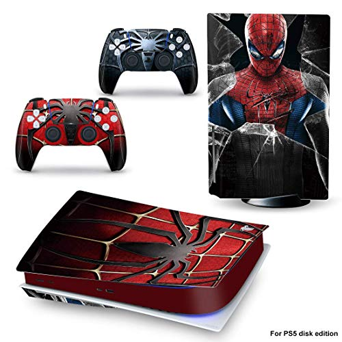 PlayStation 5 Console and Controller Skin Vinyl Sticker Cover for PS5 Console and Controller,High-quality Skin