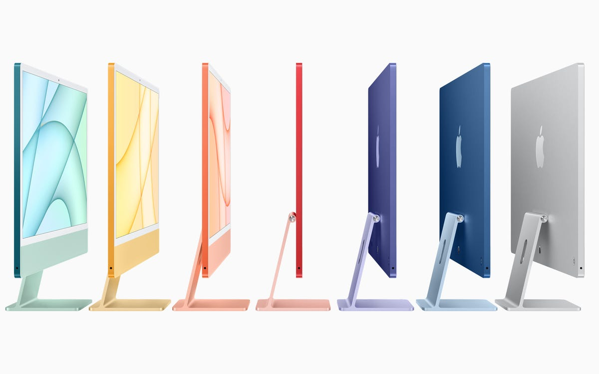 Apple's Redesigned M1 iMac are As Colorful and Thin As a Magic Marker – Review Geek