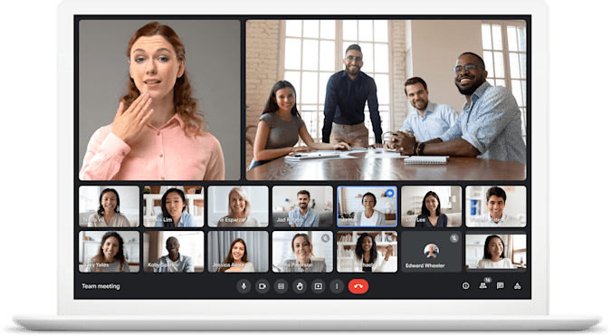Background replacement videos are coming to Google Meet