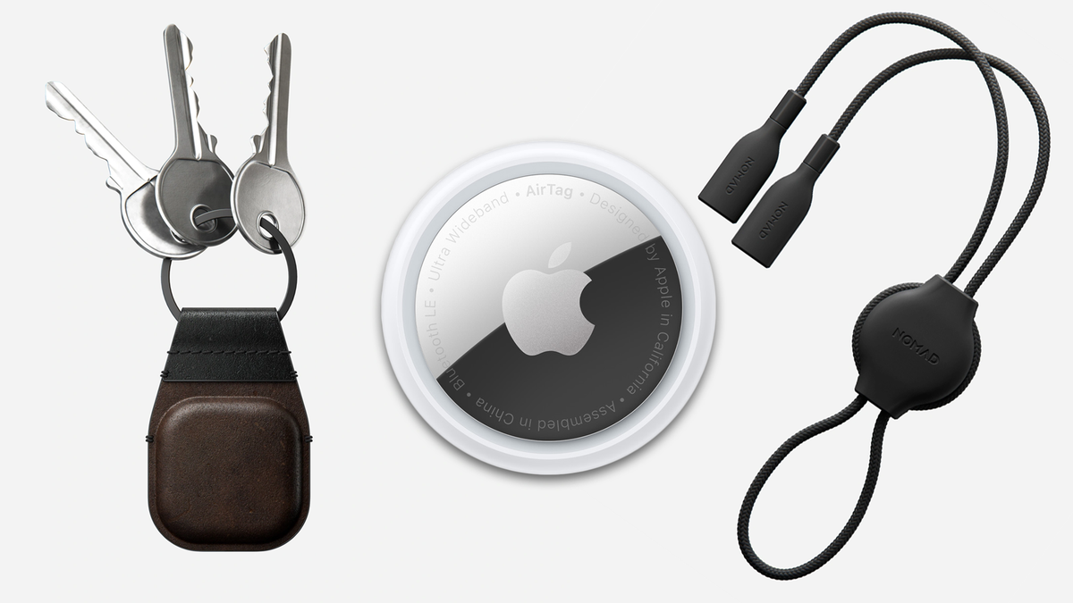 Nomad Launches AirTags Keychain and Glasses Strap with $10 Pre-Order Discount – Review Geek