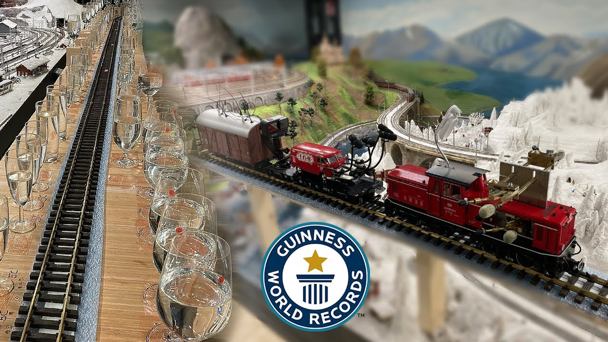 Watch a Model Train Play Music and Set a World Record – Review Geek