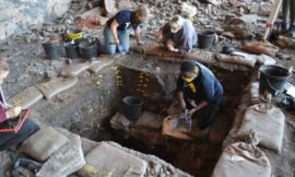 105,000 years ago in the Kalahari Desert, people invented complex culture