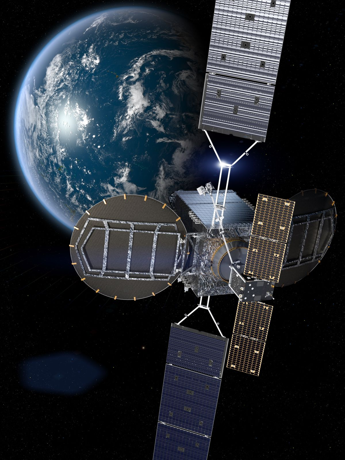 A robotic spacecraft just latched onto an active satellite in orbit