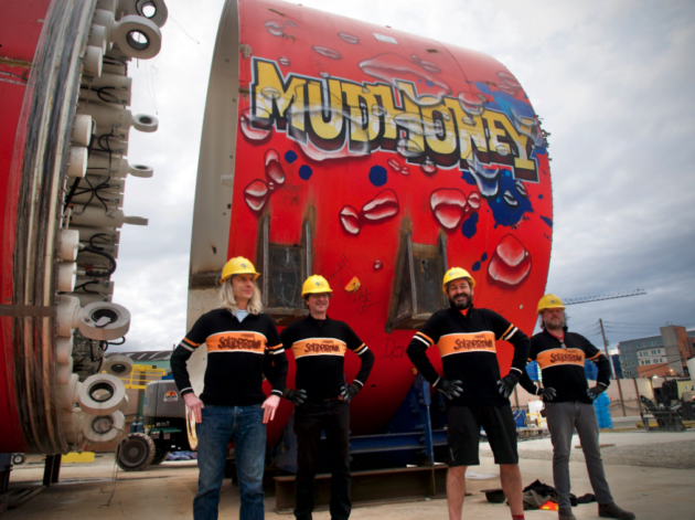 Rock fans dig deep for Mudhoney and vote to name Seattle tunnel machine after longtime band