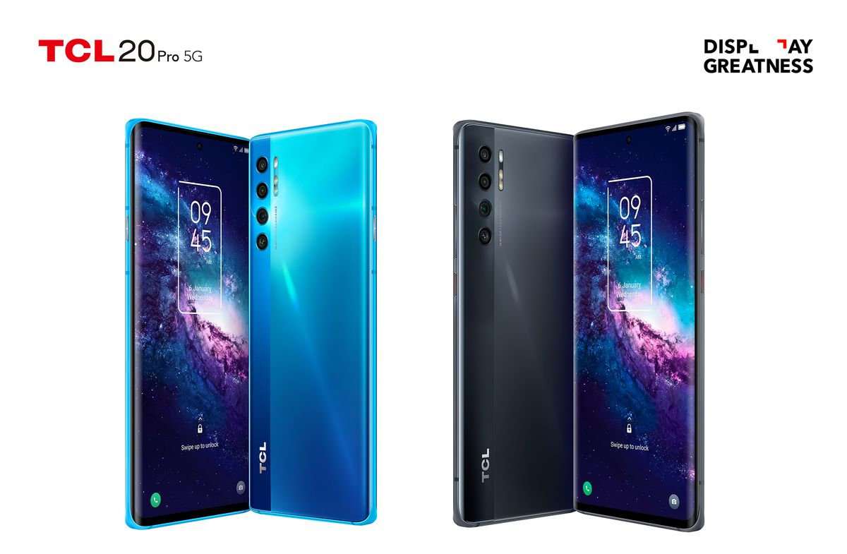 TCL 20 Pro 5G, 20L, and 20L Plus announced globally