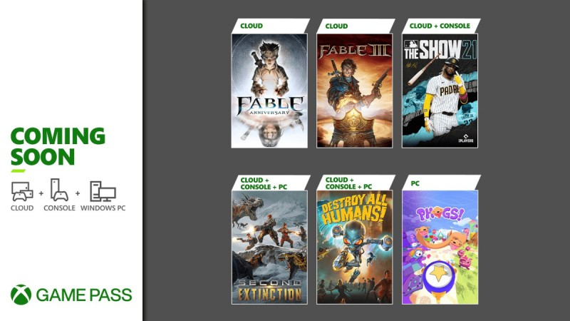 Xbox Game Pass Adds 6 New Games Including Fable, MLB The Show 21, And More