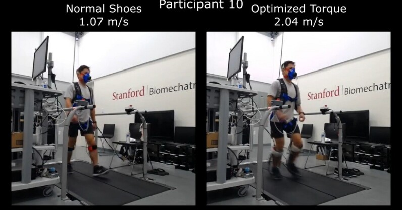 Read more about the article Scientists developed AI-powered ankle braces to make you walk faster