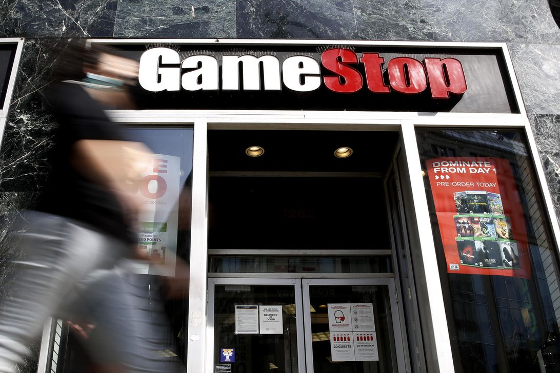 GameStop CEO George Sherman to step down by end of July