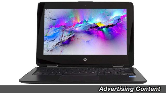 Save Over 45 Percent On This Refurbished HP ProBook x360 11 G1 EE Touchscreen Convertible Laptop
