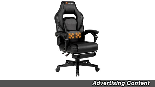 This Massaging Gaming Chair Is On Sale For Over 30 Percent Off