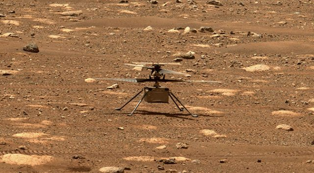 NASA's Ingenuity Helicopter Takes Flight on Mars