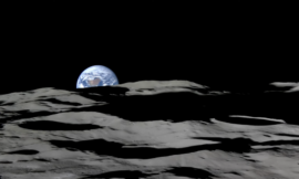 Watch a glorious 'Earthrise' from the perspective of the moon