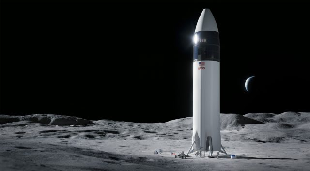 NASA Chooses SpaceX Starship for Human Lunar Landing