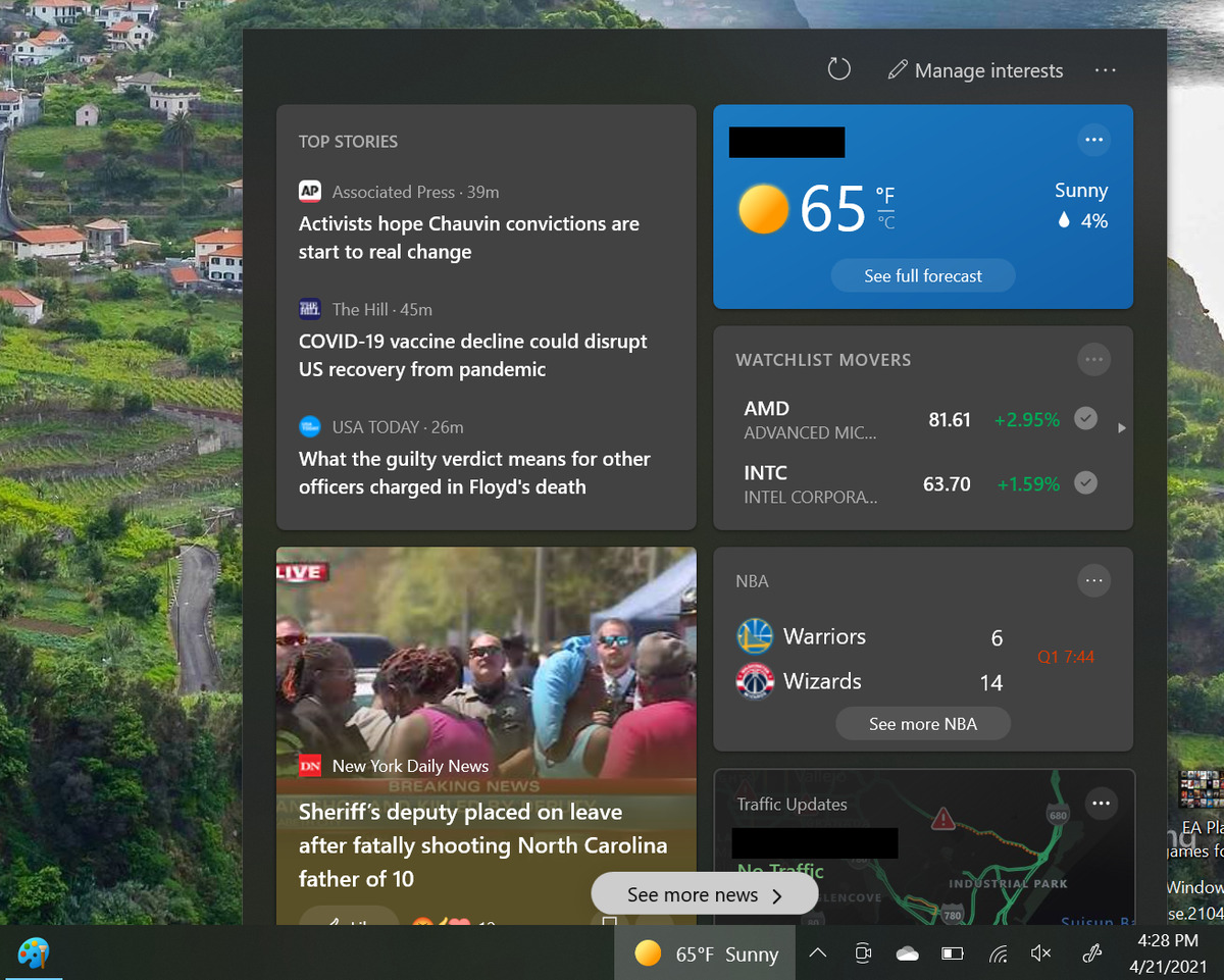 All Windows 10 users will get their own news feed, courtesy of Bing