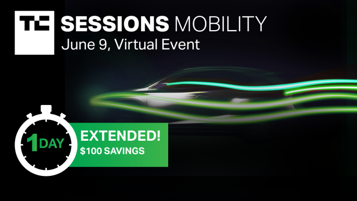 Mobility 2021 early bird price extended for one more day – TechCrunch