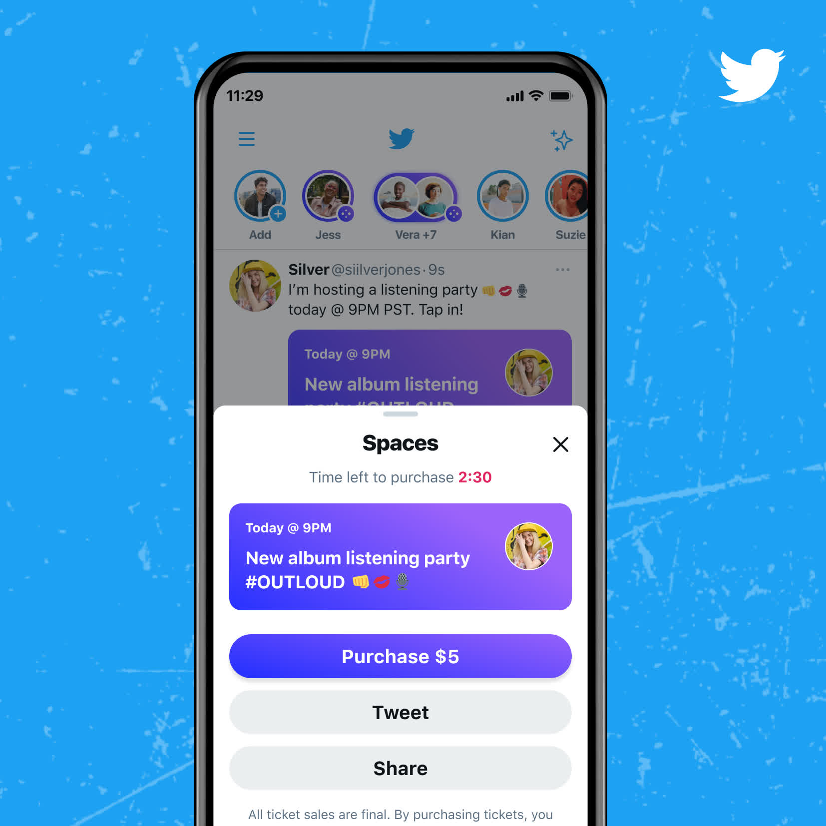 Twitter opens up Spaces to anyone with 600+ followers