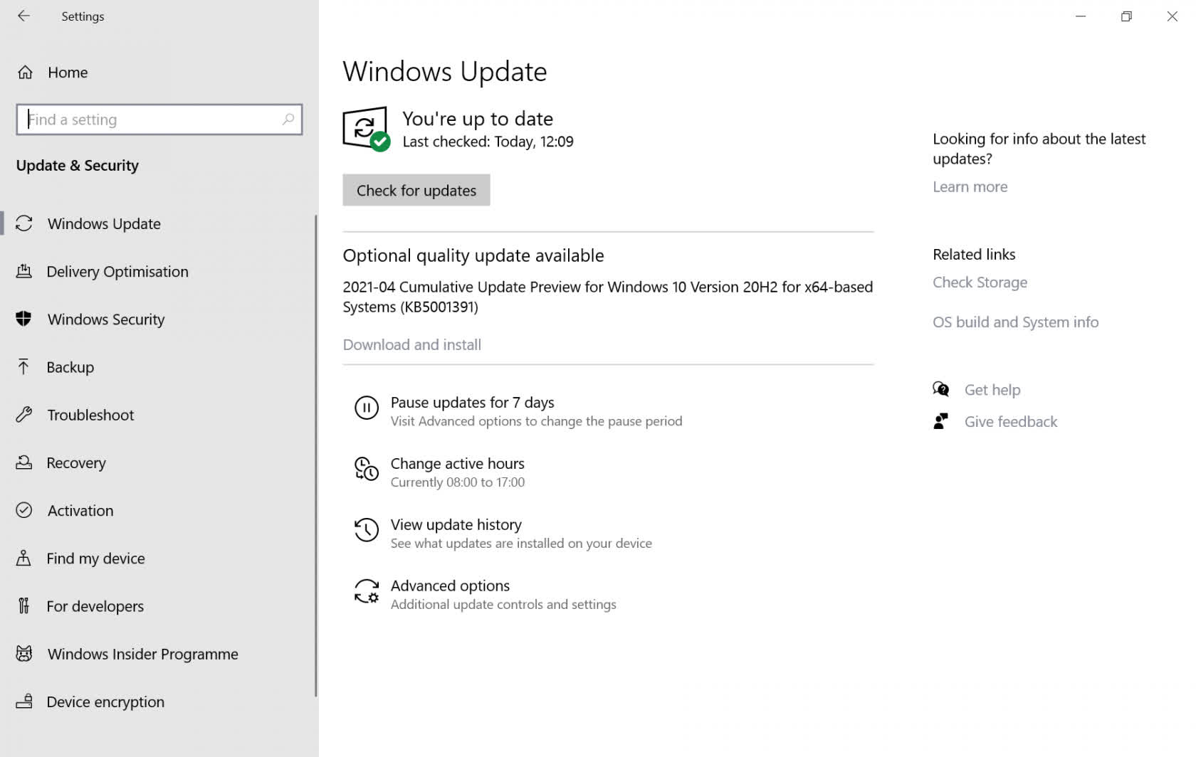 This month's cumulative update for Windows 10 is a must if you're seeing random high CPU usage