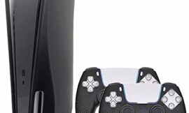 KJ-KayJI PS5 Silicone Skin Cover PS5 Controller Silicone Skin Cover, Dustproof Anti-Scratch Anti-Fall Waterproof Protector Case,Only Applicable to Sony Playstation 5 Ultra HD/Disc Edition Console