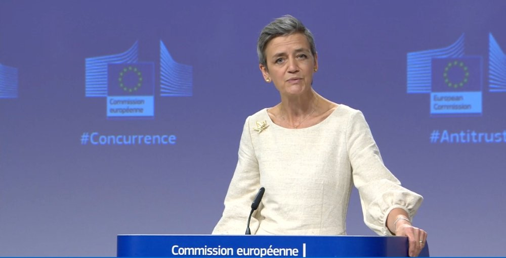 European Commission says Apple is in breach of EU competition law