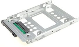 DSLRKIT 2.5″ SSD to 3.5″ SATA Hard Disk Drive HDD Adapter Caddy Tray CAGE Hot Swap Plug