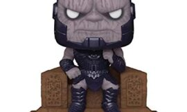 Funko Pop! Deluxe: DC Justice League The Snyder Cut – Darkseid on Throne