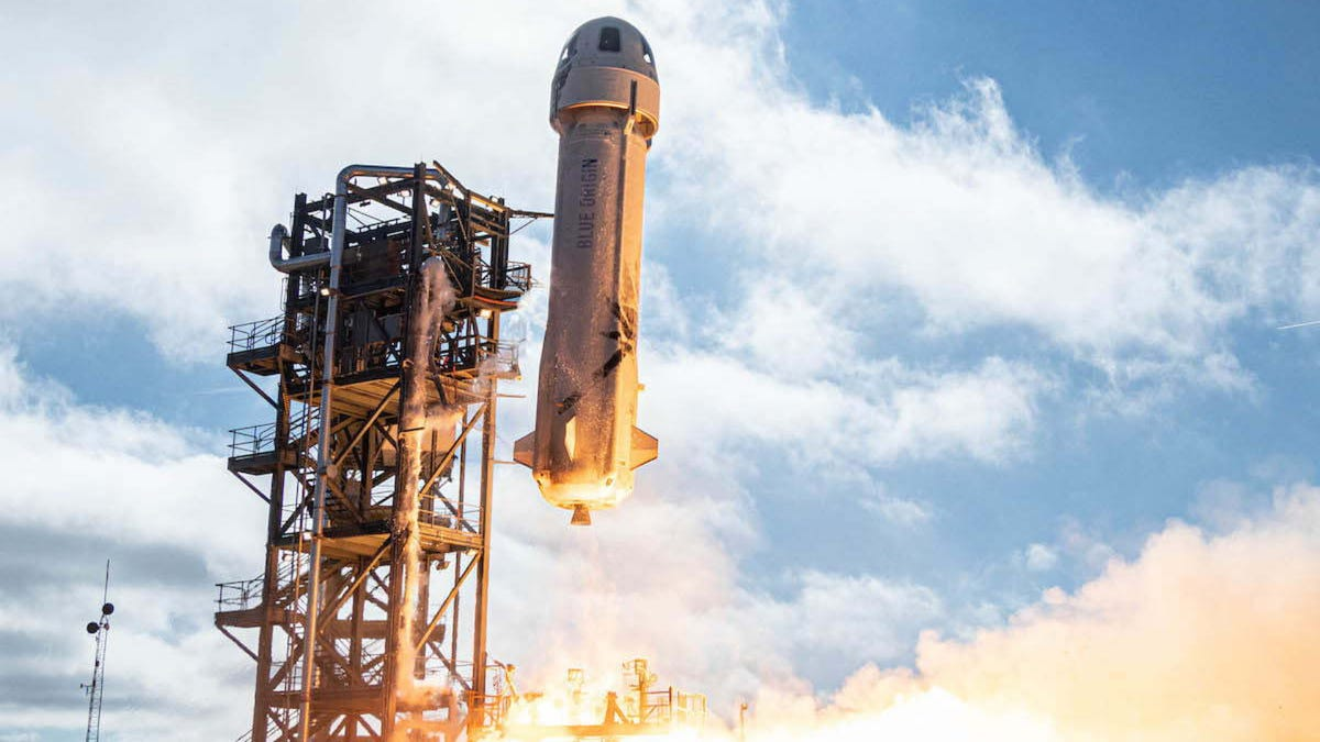 Blue Origin's First Space Tourism Flights Set for Blastoff – Review Geek
