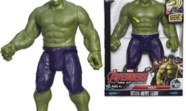 Titan Hero Tech Electronic Hulk 12 Inch Tall Action Figure from Marvel Avengers