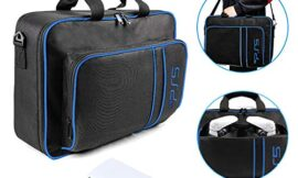 Waterproof Case Storage Bag for PS5,Carrying Case Protective Travel Bag Compatible for Playstation 5 igital Edition/Ultra.