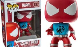 Funko Pop! Marvel Scarlet Spider #187 (Exclusive)